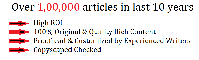 Article Writing in Jaipur, India