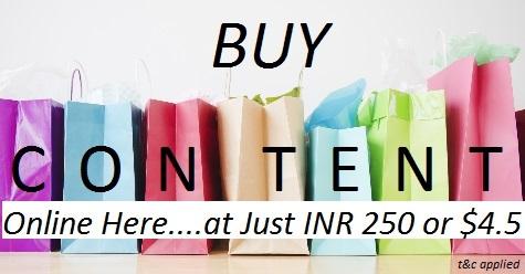 Buy Content Online in India