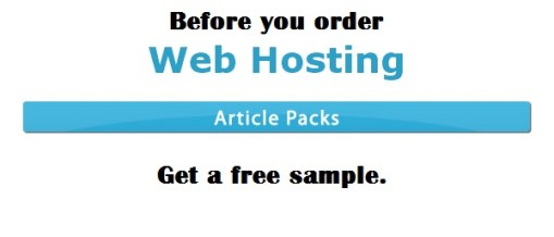 Hosting article sample
