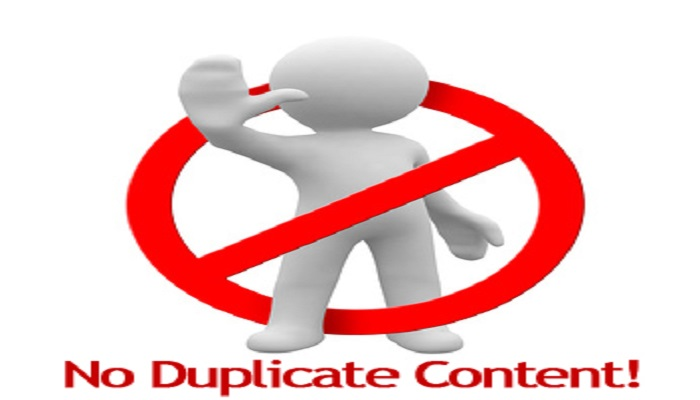duplicate content-Thoughtfulminds