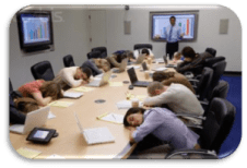 People Sleeping in Meeting