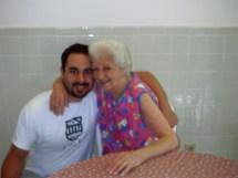 Mike Figliuolo and his Nana