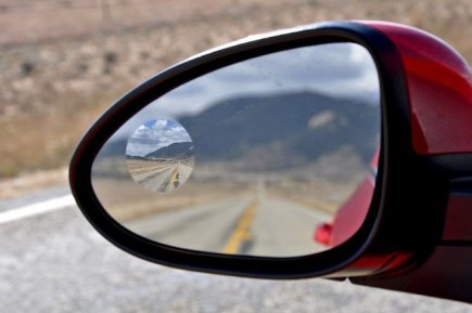 Blind Spot Mirror on Rear View Mirror