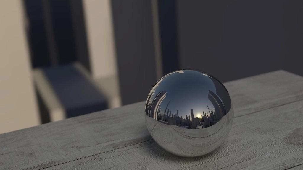 20200120 Mirror Ball