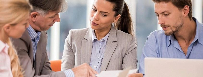 annoyed businesswoman