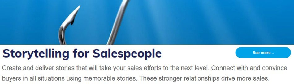 Storytelling for Salespeople