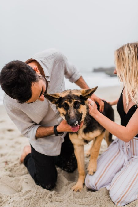 LOVE IS IN THE AIR | A BEACH SESSION | SAN DIEGO