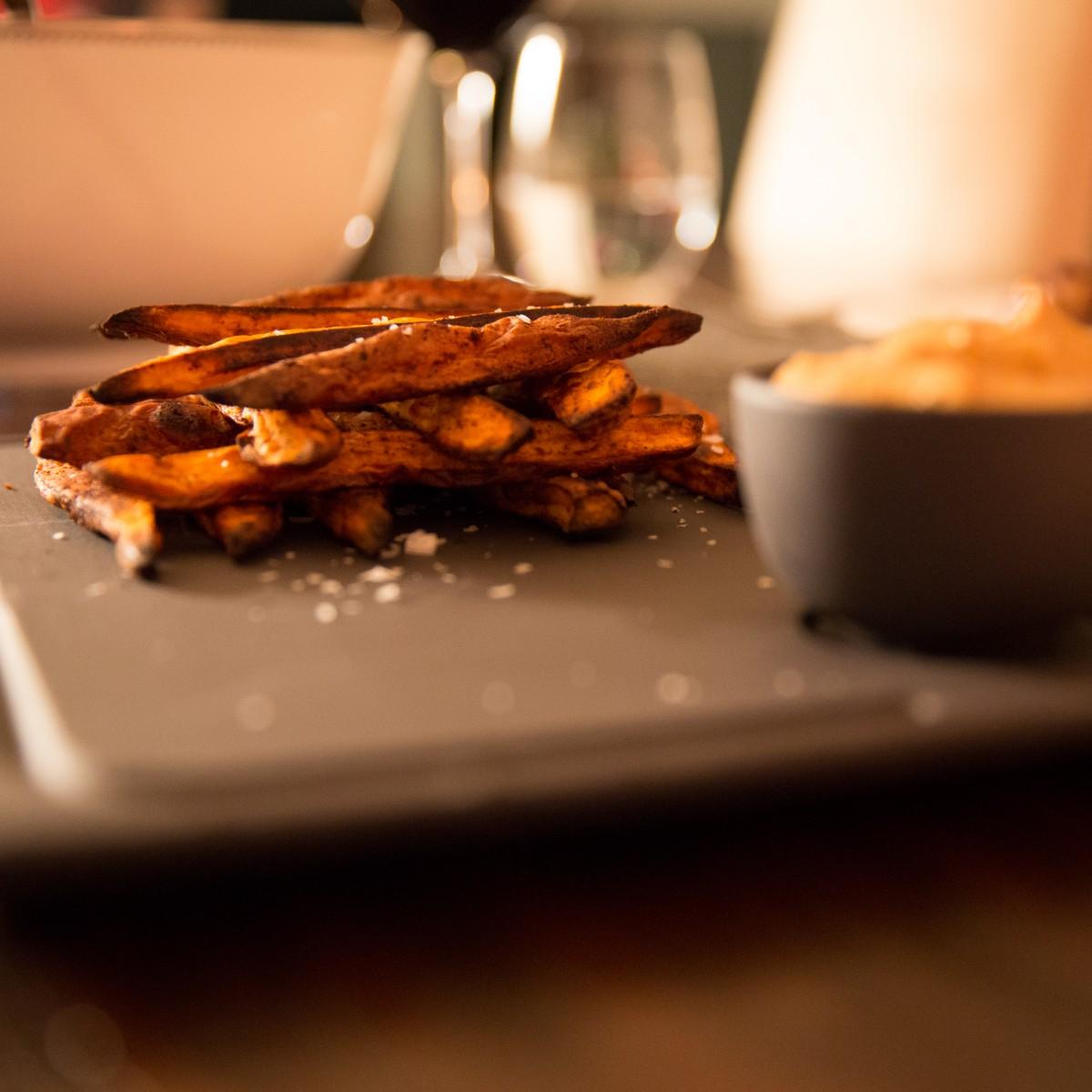 You say 'potato', I say 'potahto'; or sweet potato fries, my ultimate comfort food