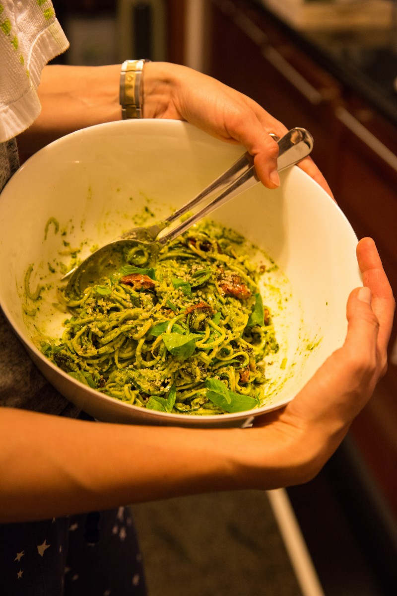 A fruit called tomato or a quick bowl of zucchini noodles