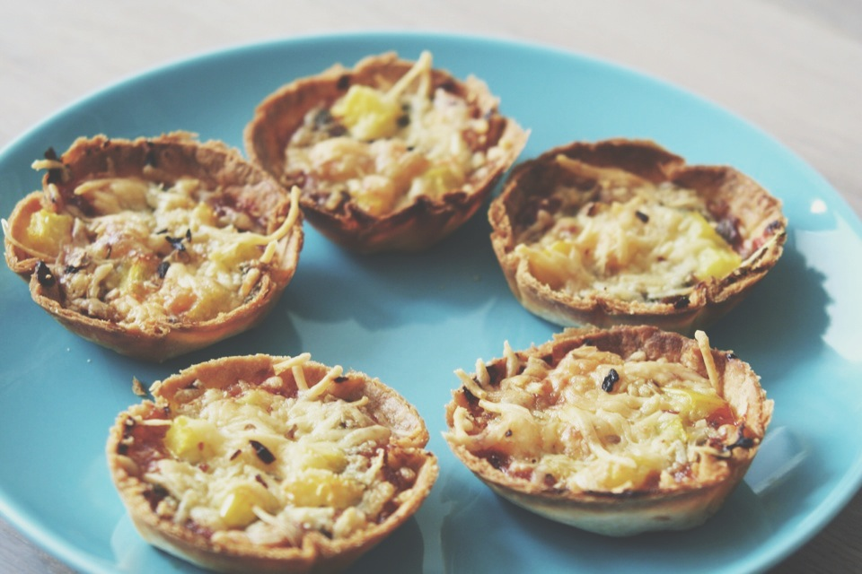 In Pizza We Crust | Muffin Tin Pizzas