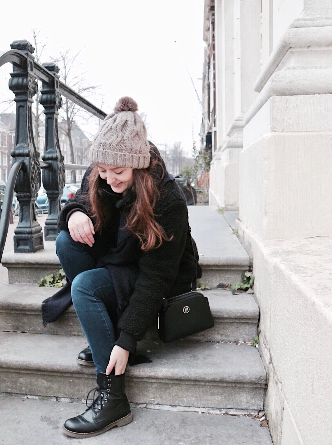 Winter Days, Fluffy Coats & Warm Hats | Outfit