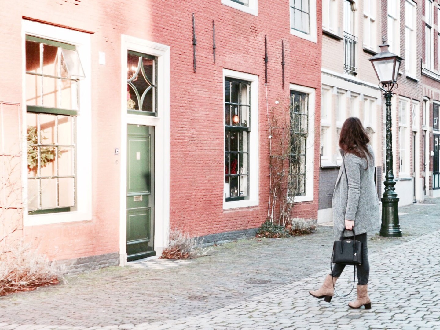 A Business Look With My New Bag & Beige Boots | Outfit
