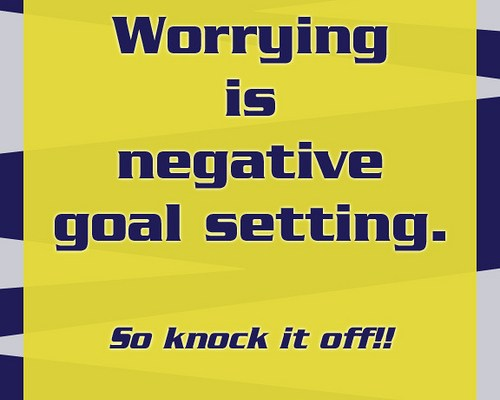Strategies to manage worrying unnecessarily