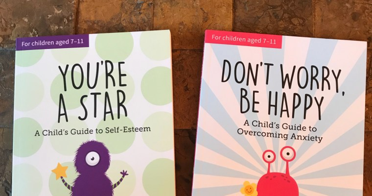 Children's books on anxiety and self esteem