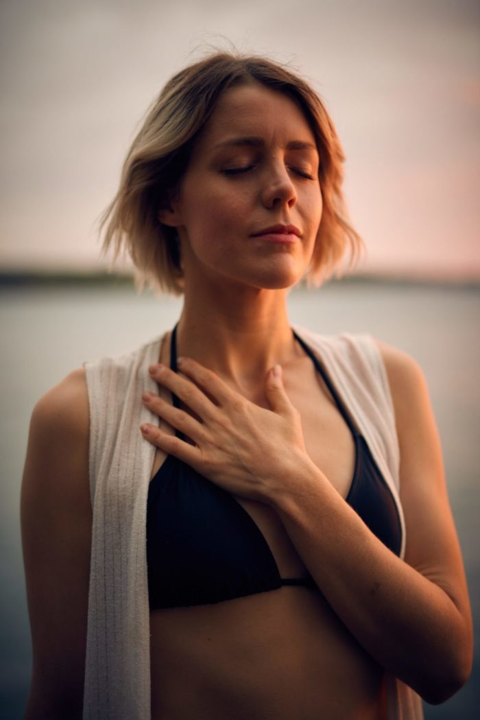 Relieving stress through mindfulness and massage
