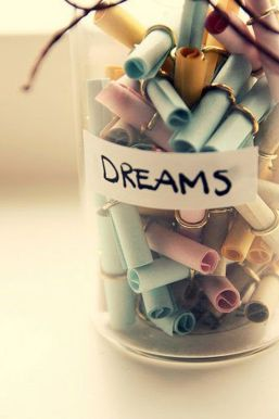 How to rediscover your dreams.
