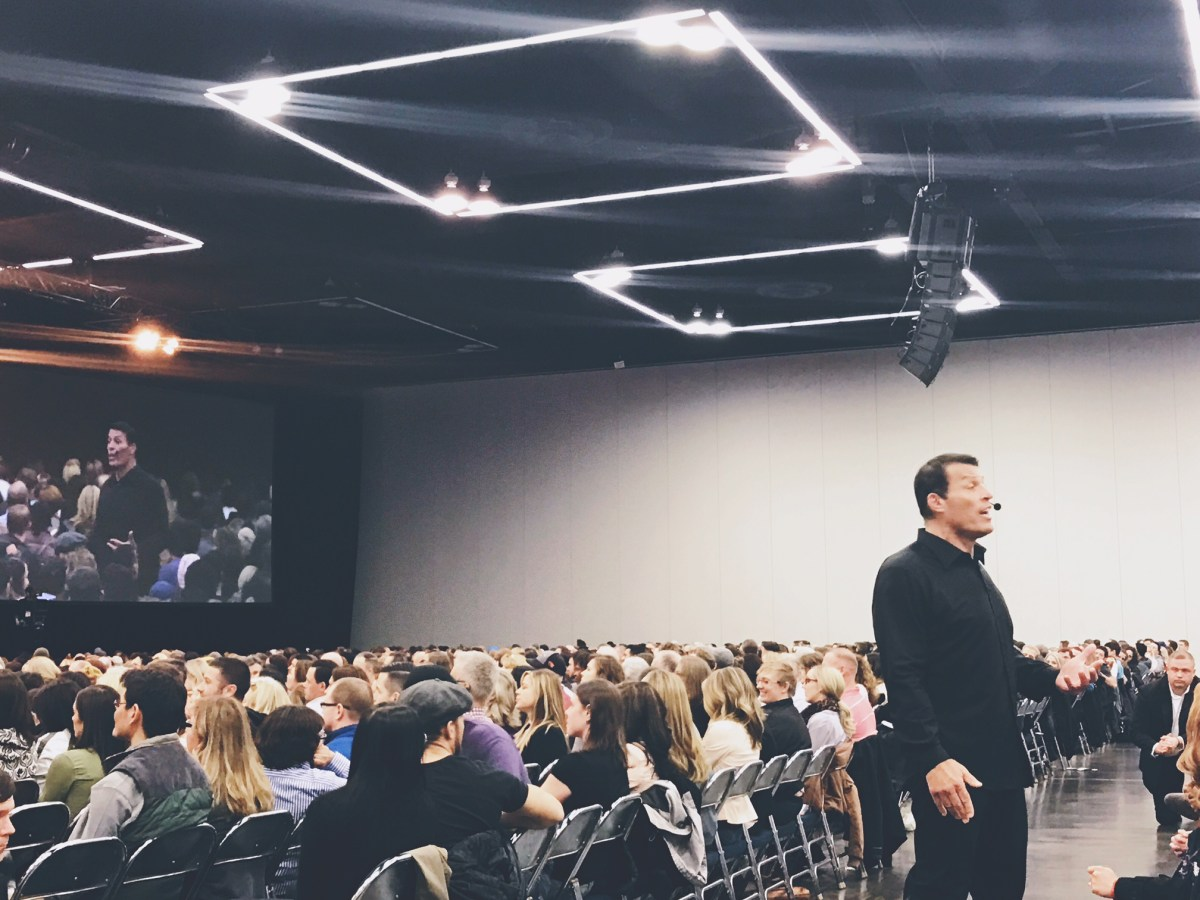 Tony Robbins Tour Scam
