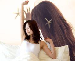 髪 ロング 寝るとき
