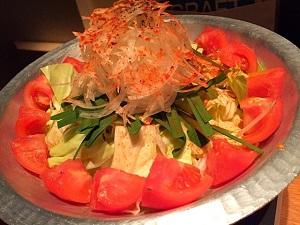 トマトもつ鍋