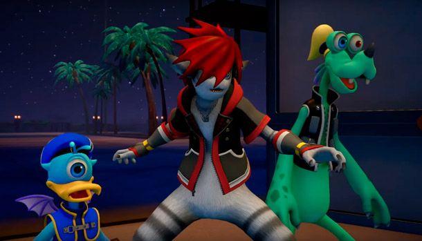 Kingdom Hearts III Monstruos S.A.