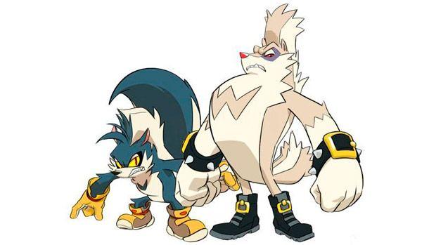 Rough Tumble Sonic Comic