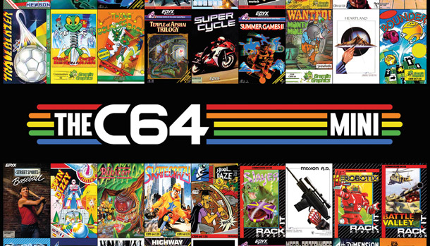 The C64 Mini Games Poster