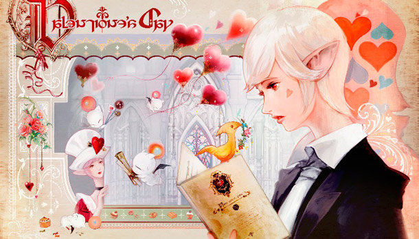 Valentione's Day Final Fantasy XIV