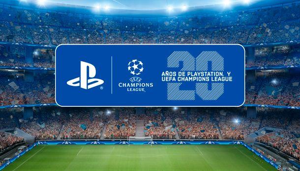 PlayStation UEFA Champions League Patrocinio