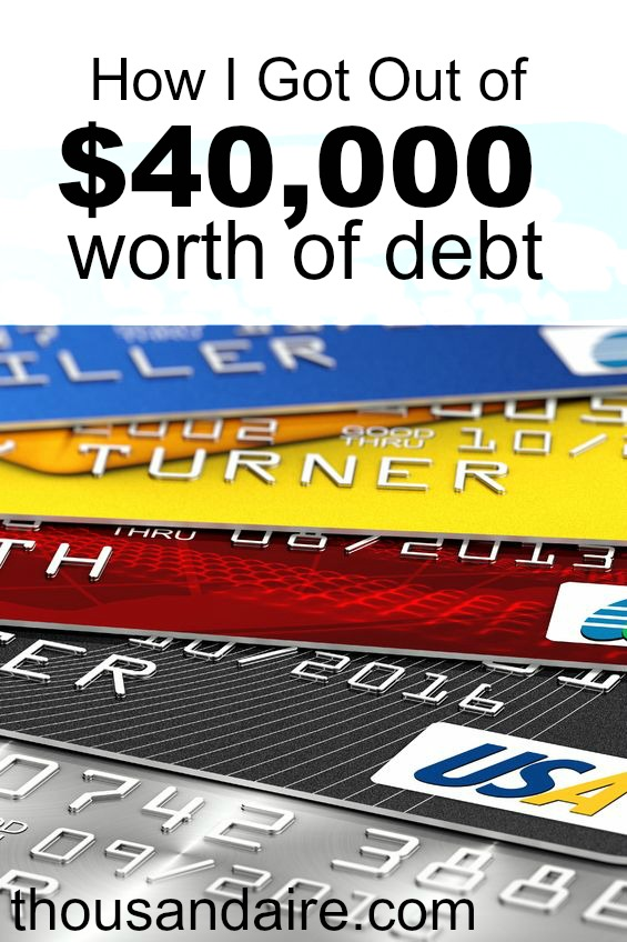 Debt Free Strategies - $40k of Debt