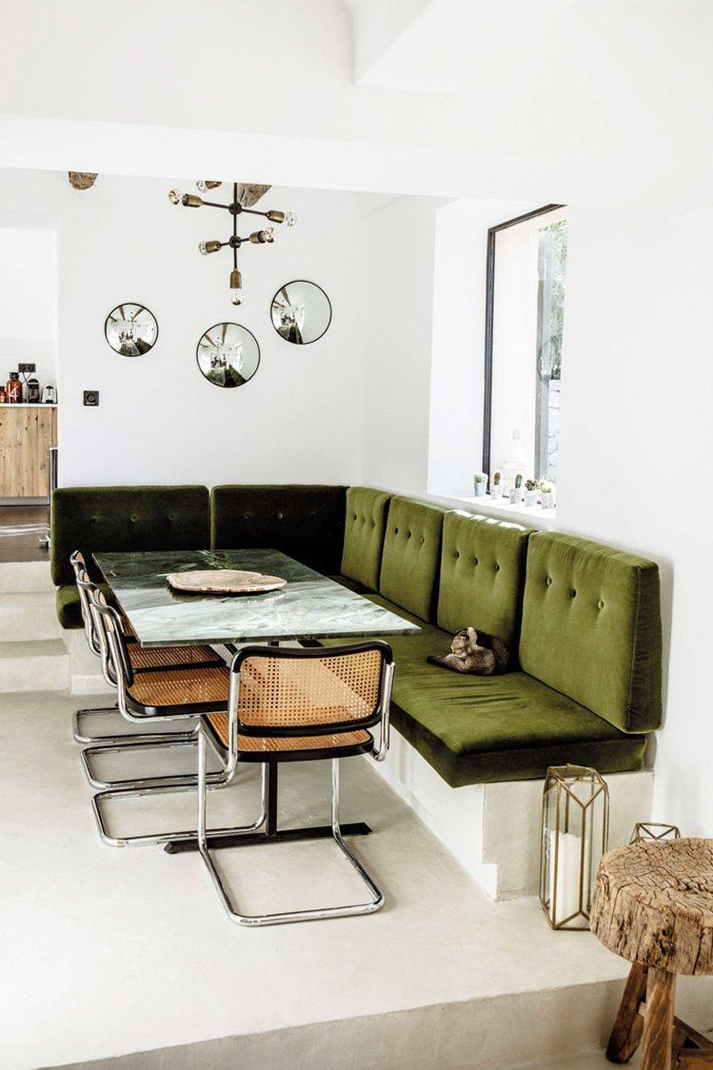Banquette Palette Interesting Mon Salon Extrieur