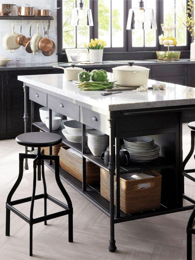 Stylish Freestanding Kitchen Islands Amp Carts Thou Swell