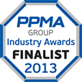 PPMA Industry Awards Finalist 2013