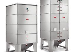 SILBOX STAINLESS STEEL INDOOR MODULAR SILOS