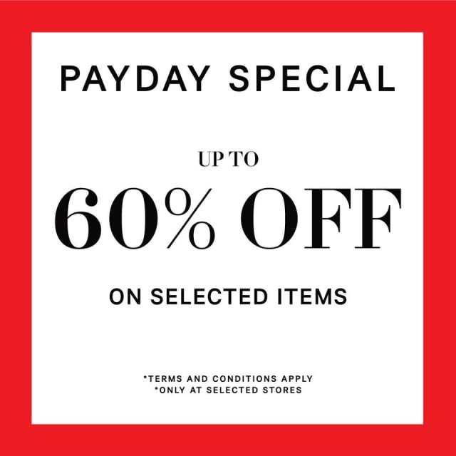 H&M SALE 2019 สินค้า เสื้อผ้า ลดราคา ซื้อ 1 แถม 1 เมษายน - พฤษภาคม 2562