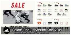 Adidas End Of Season Sale 2019 อาดิดาส ลดราคา 25 มิถุนายน – 7 กรกฎาคม 2562