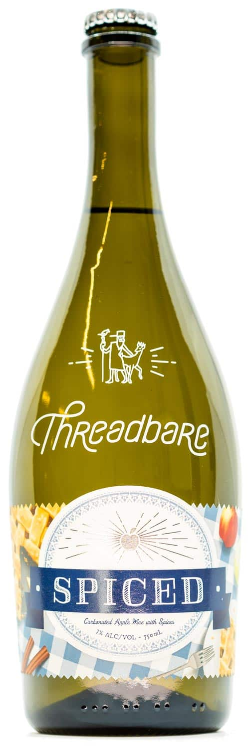 Threadbare Spiced Cider Bottle