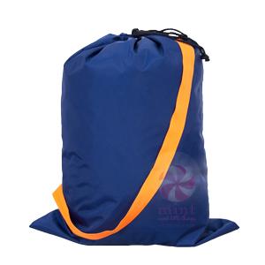 OM navy orange catch all bag