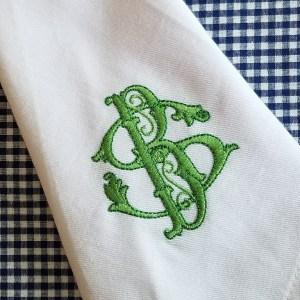 gothic dinner napkin
