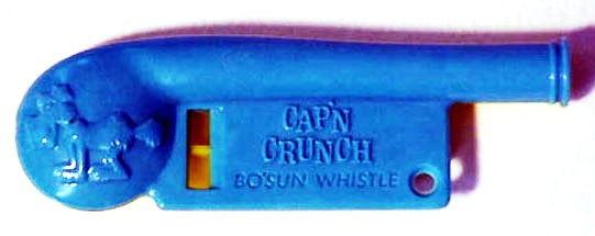 Cap'n Crunch Whistle