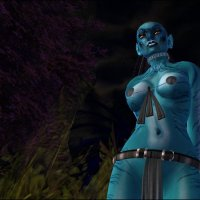 Na'vi Forest in Nikita Fride Avatar