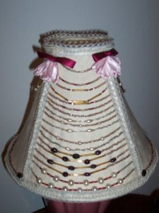 re-styled lampshade