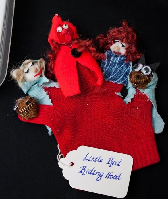 glove finger puppets