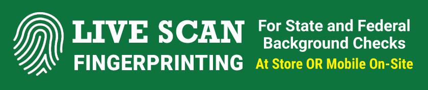 Live Scan Fingerprinting in Baltimore
