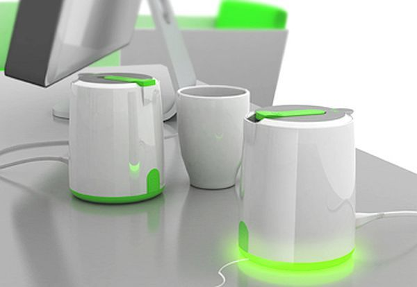 The pH7 Green Thermal Kettle
