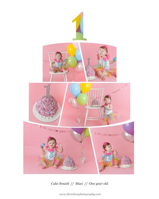 Maci-1 Year Cake Smash