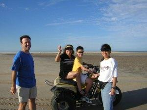 ATV's on the flats around Bahia Santa Maria - Cabo San Lucas