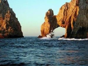 Land's End rock formation Cabo San Lucas