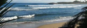 Surf at Jobos Beach, Isabela - Puerto Rico