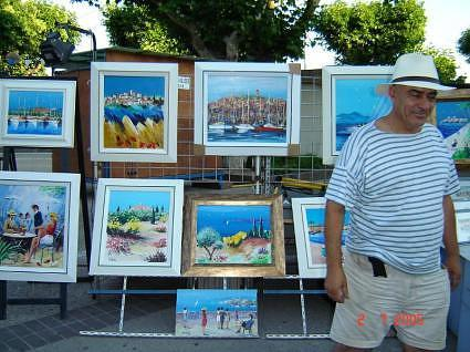 Cannes Market, France by Kim Beard