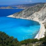 Myrtos Beach, Kefalonia, Pylaros, Greece